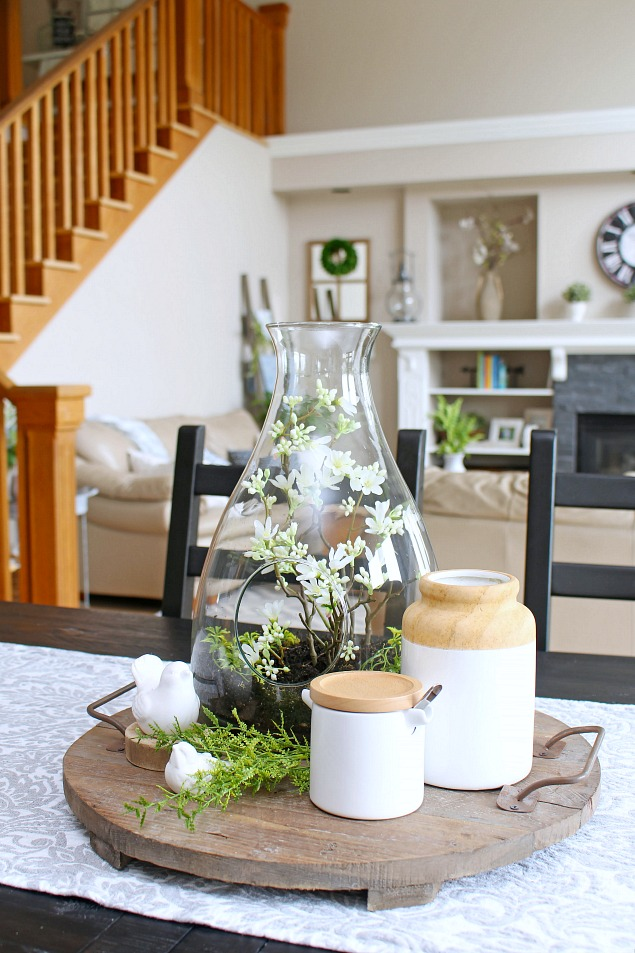 DIY your way to a beautiful home with this pretty spring terrarium tutorial. {via Clean and Scentsible}