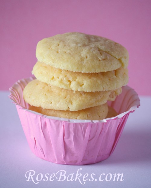 Butter Crisp Cookies {Rose Bakes} - Sweet treats for the family!