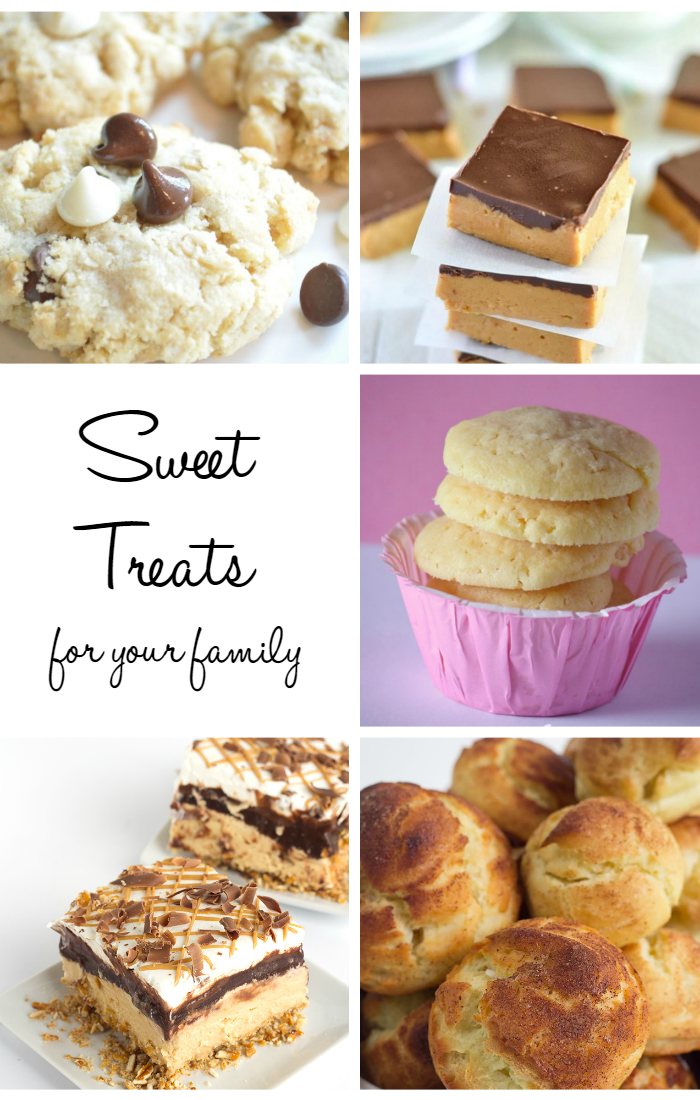 SWEET TREATS FOR THE FAMILY