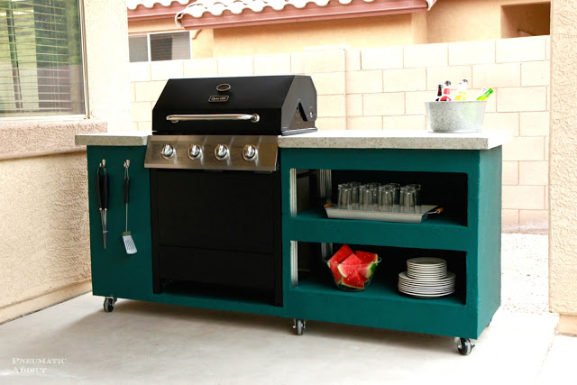 diy outdoor kitchen island diy outdoor kitchen 17390