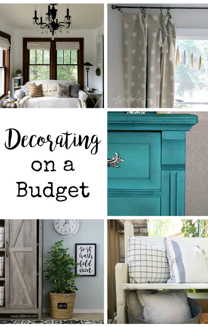 Decorating on a budget ideas, DagmarBleasdale.com